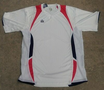 $9.99 • Buy WOMAN Admiral White/navy/red Soccer Jersey,new/tag,size XL