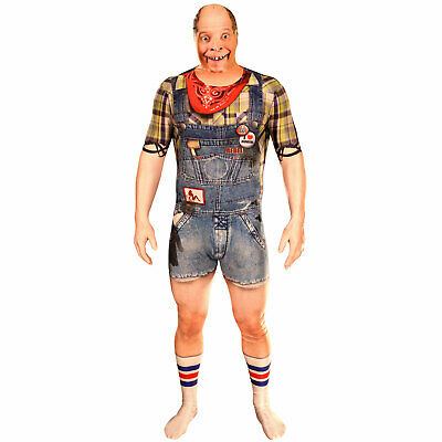 SALE Morphsuit Faux Real 3D Print Hillbilly Man Billy Bob Stag Party Costume • 22.95£