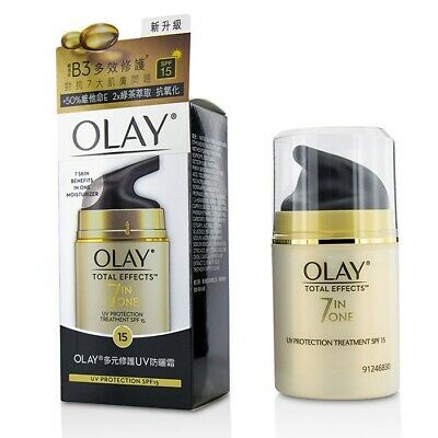 AU49 • Buy Olay Total Effects 7 In 1 UV Protection Treatment SPF15 50g Mens Other