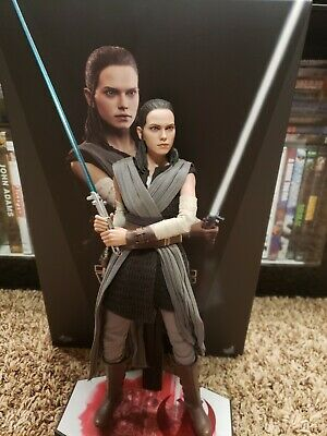 $250 • Buy REY Jedi Training Hot Toys MMS 446 STAR WARS Episode 8 The Last Jedi 1/6