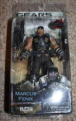 $41.99 • Buy Gears Of War 3 Marcus Fenix Includes Retro Lancer Player Select Figure NEW #179