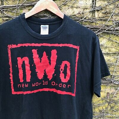 $ CDN31.27 • Buy NWO New World Order Black Wrestling Tee - Size Men's Medium