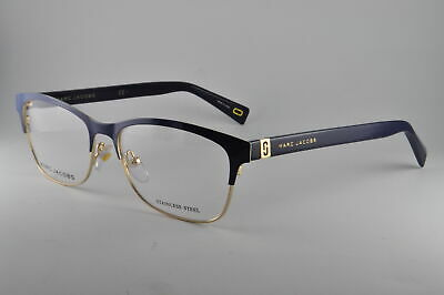 $60 • Buy Marc Jacobs Eyeglasses MARC 338 0PJP Blue, Size 55-16-140