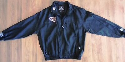 $ CDN43.41 • Buy Vintage Starter Rhein Fire Black Jacket-World Football League-XL