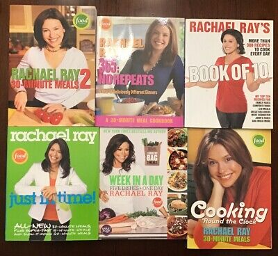 $8 • Buy Rachael Ray Lot Of 4 Cookbooks 30 Minute Meals Paperback