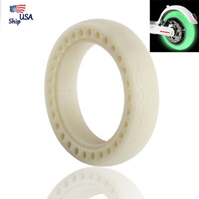 $16.99 • Buy Luminous Fluorescent Hollow Solid Tire For Xiaomi Mijia M365 Electric Scooter US