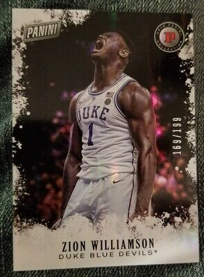 $7.99 • Buy 2019 Panini Black Friday Zion Williamson Rookie Card Serial #'d 169/199.