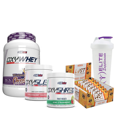 AU199.90 • Buy EHP LABS DEAL OF THE YEAR | Whey, Fat Burner | Recovery | Weight Loss