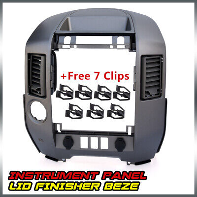$59.40 • Buy 682578S800 Instrument Panel Lid Radio Bezel For Nissan Titan Armada  W/o Speaker