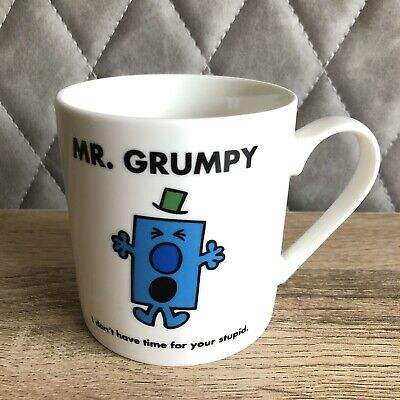 Mr Grumpy 'i Dont Have Time For Your Stupid' Cup  • 4.99£