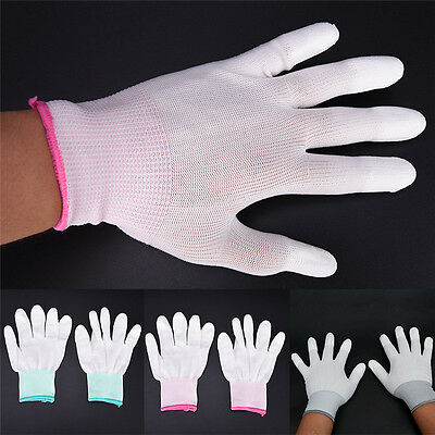 $6.37 • Buy 1Pair Anti Static Antiskid Gloves PC Computer Repair ESD Electronic Labor WorkHV
