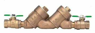 $170 • Buy Wilkins Double Check Valve Backflow Preventer 3/4 In., Lead Free
