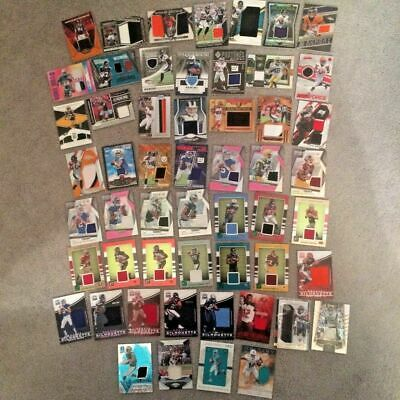 $9.99 • Buy NFL Cards 6 Hits Autograph & Jersey Lot Of 25