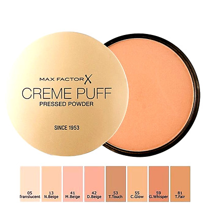 Max Factor Creme Puff Powder Compact - Choose Your Shade *FREE & FAST P&P* *NEW* • 5.99£
