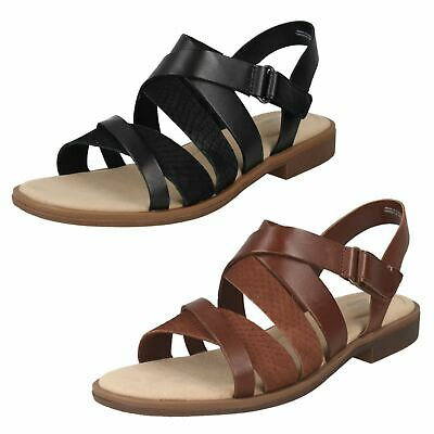 Ladies Clarks Declan Mix Gladiator Sandals • 48.99£