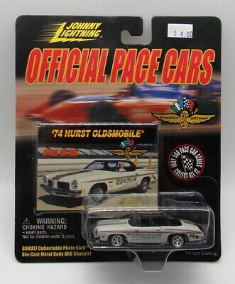 $1.99 • Buy Johnny Lightning Official Pace Cars 1974 Hurst Oldsmobile Pace Car 1:64