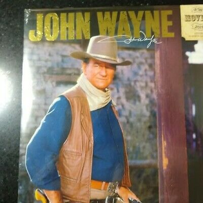 $3 • Buy John Wayne 2019 In The Movies 12  X 12  Wall Calendar New / Sealed
