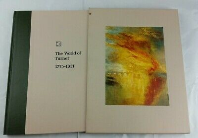 The World Of TURNER  1775-1851 - Time-Life Library Of Art - W/Slip Case • 11.44£