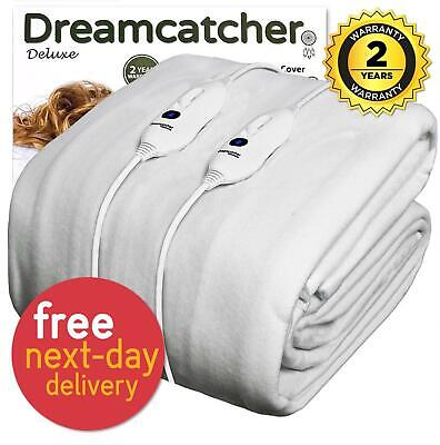 Electric Heated Under Blanket Single Double King Size Super With Dual Controls • 24.95£