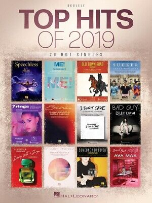 AU39.99 • Buy TOP HIT OF 2019 For Ukulele Book *NEW* Music