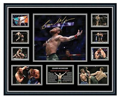 AU99.99 • Buy Conor Mcgregor Ufc 246 2020 Comeback Signed Limited Edition Framed Memorabilia
