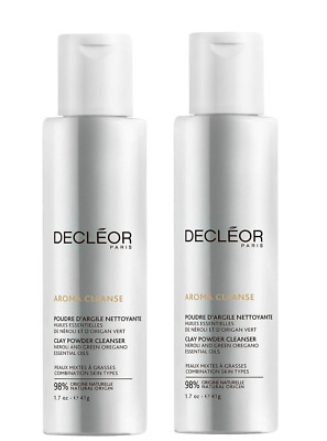 Decleor Aroma Cleanse Clay Powder Cleanser 41g Duo Pack • 40.99£