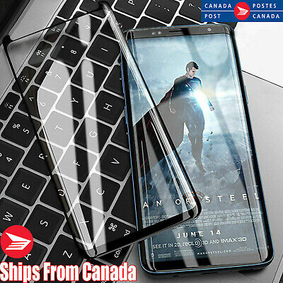 $ CDN6.35 • Buy For Samsung Galaxy S8 S9 S10 Plus 10e Note 9 10 Tempered Glass Screen Protector