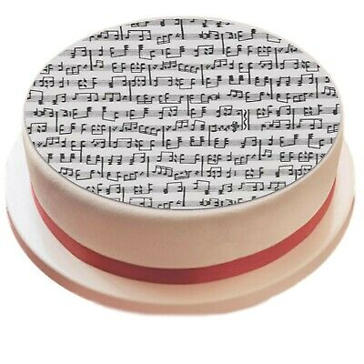 £4.75 • Buy Music Notes Edible Icing Sheet Printed Cake Topper Decoration Musical