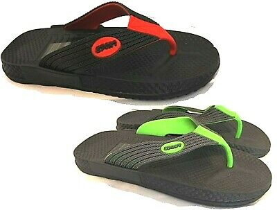 Mens Toe Post Sport Flip Flops Sandals Beach Pool Shower Shoes Mules Size • 4.99£