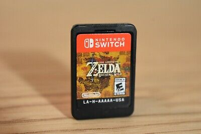 $42.90 • Buy Legend Of Zelda Breath Of The Wild Nintendo Switch Cart Cartridge Only Tested
