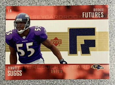 $3.99 • Buy Terrell Suggs 2003 Upper Deck Rookie Futures RC Jersey Chiefs