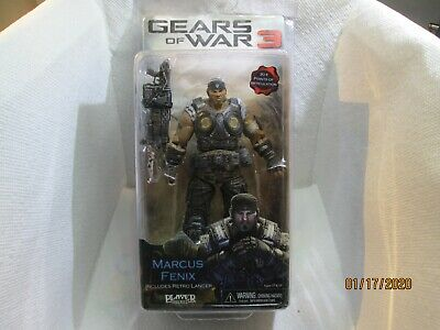 $39.99 • Buy Gears Of War 3 Marcus Fenix Includes Retro Lancer Player Select Figure NEW