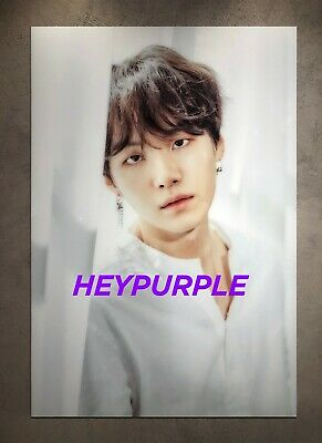 $34.99 • Buy 2018 BTS Exhibition '오, 늘' Official MD Poster Yoongi Suga