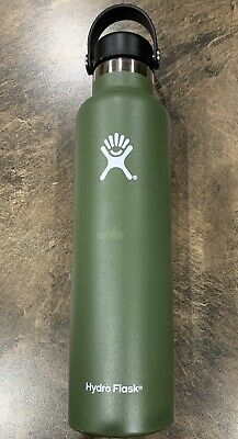 $16.99 • Buy Hyrdo Flask 24 Oz Standard Mouth Insulated Water Bottle In Olive Green