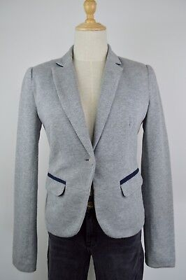 AU12 • Buy Bershka Grey Blazer Jacket Size M REBOUTIQUE