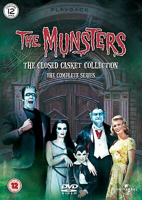 The Munsters: The Closed Casket Collection - The Complete Series (Box Set) [DVD] • 19.99£