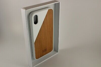 IPhone X - Native Union CLIC Wooden Case - Handcrafted Real Wood • 12.49£