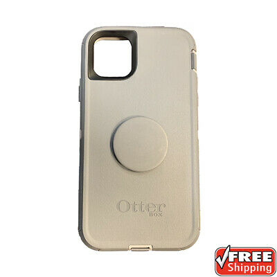 AU110.30 • Buy NEW Otterbox Otter + Pop Defender Series Popsockets Case Grey IPhone 11 Pro Max