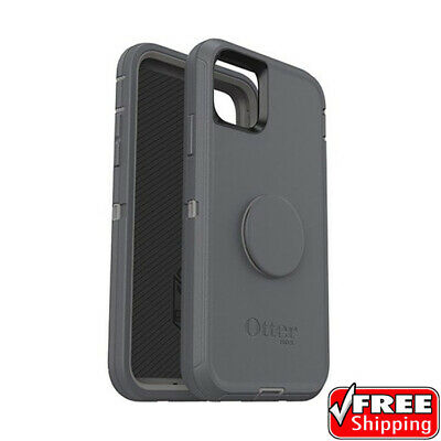 AU24.50 • Buy NEW Otterbox Otter + Pop Defender Series Popsockets Case Grey IPhone 11 Pro ONLY