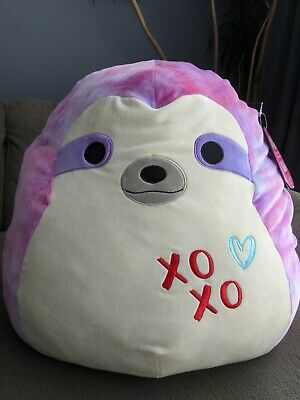 $ CDN72 • Buy Squishmallow XL 22  Canadian Exclusive Valentines Sharie The Sloth Squishmallows