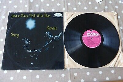 Sonny & Brownie - Just A Closer Walk With Thee UK 1st Vocalion LAE 552 Blues LP • 12.99£