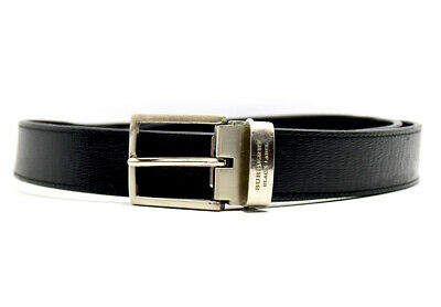 Burberry Black Label Authentic Classic Mens Leather Belt Size 32 • 100£