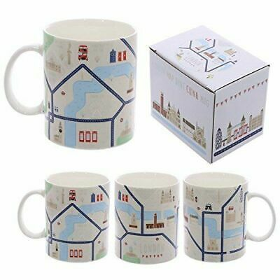 London Map Design Bone China  Mug  Ideal   Gift Boxed  • 6.49£