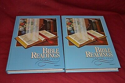$14.99 • Buy Bible Readings For The Home  E.G White 1980  VO. 1&2