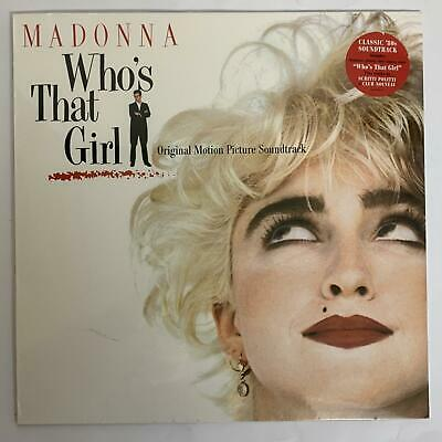 Madonna ‎– Who's That Girl Soundtrack Vinyl Lp Reissue (sealed) • 8.99£