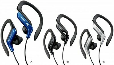 $9.60 • Buy JVC HA-EB75 Sports Ear-Clip Headphones Assorted Colors Blue,Black Silver New!