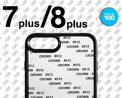 $ CDN281.50 • Buy Lot Of 100 Sublimation Cases For Apple IPhone 7 Plus & 8 Plus