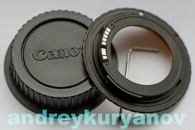 $31 • Buy M42 To Canon Adjustable With Dandelion Chip Original. For All Canon EF EOS. NEW.