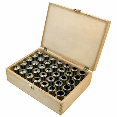 $ CDN462.13 • Buy Toolmex 5C Collets 24 Piece Metric Set Made In Poland  3mm - 26mm Round