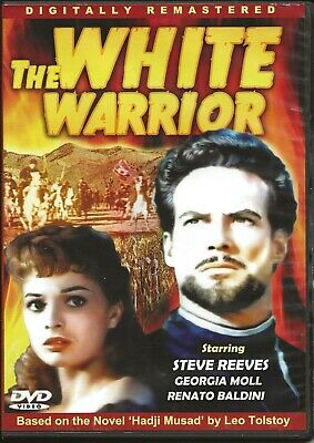 £2.86 • Buy STEVE REEVES – The White Warrior (DigiView – USA) – GIORGIA MOLL